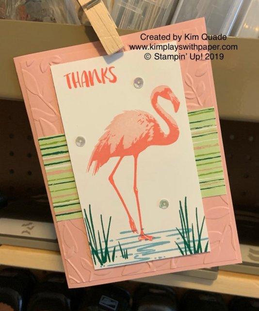 Stampin' Up! Flirty Flamingo