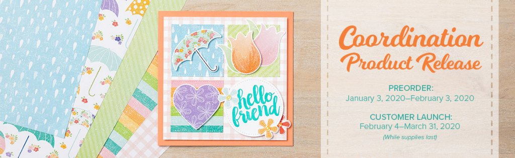 Stampin' Up! Coordination Product Release