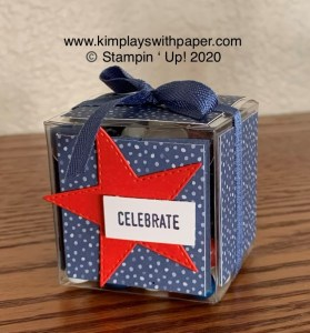 Stampin' Friends Happy Fourth 3D