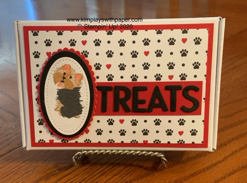 Playful Pets Mini Paper Pumpkin Box