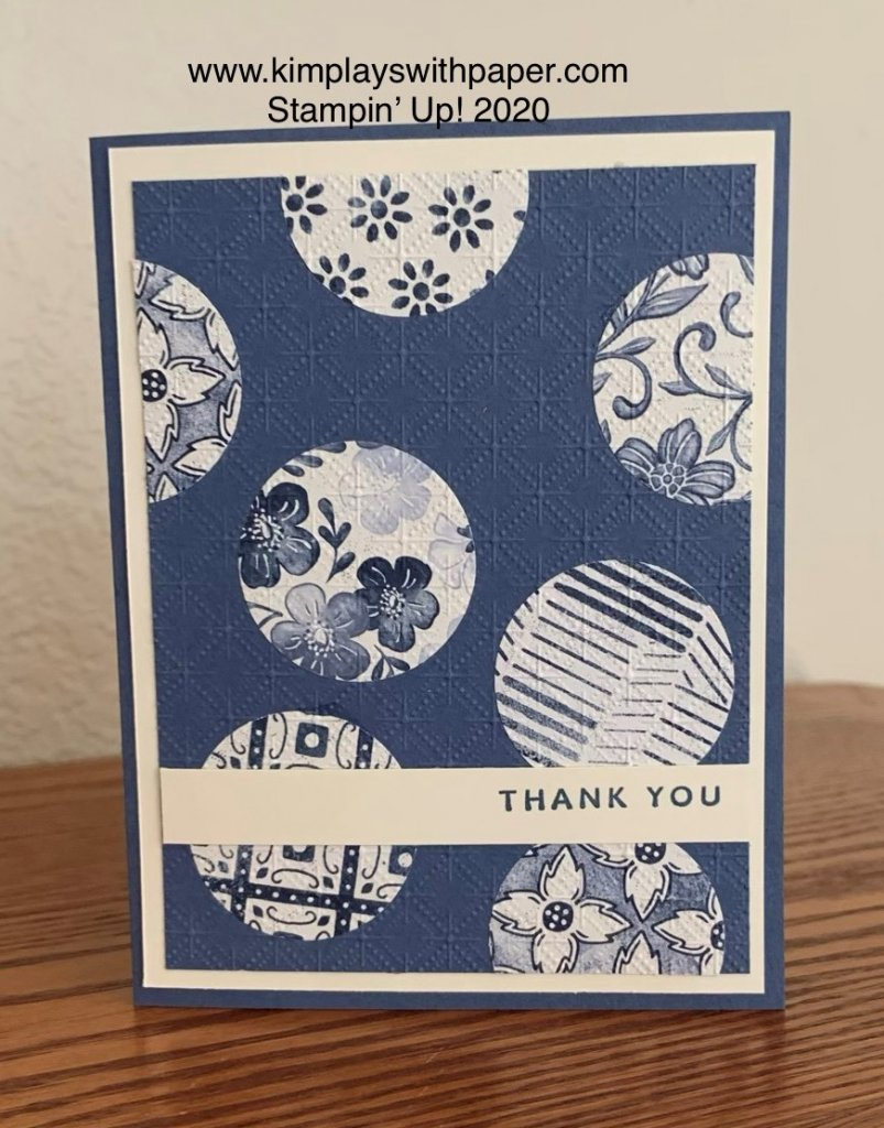 Boho Indigo Card Samples