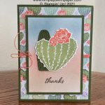 Blending Brushes Flowering Cactus