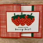 Berry Blessings Fun Fold