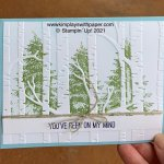 How to Stamp on Embossing Folders
