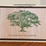 Rooted in Nature #simplestamping