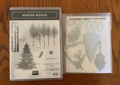 Winter Woods/In the Woods Dies--$55
