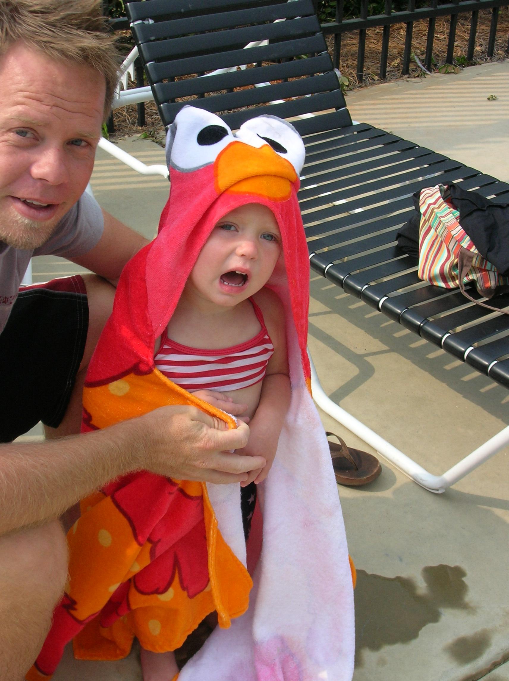 Dad and Elmo Izzie