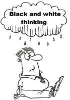 Black and white thinking