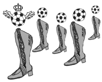 weird art - boot and soccer take 2