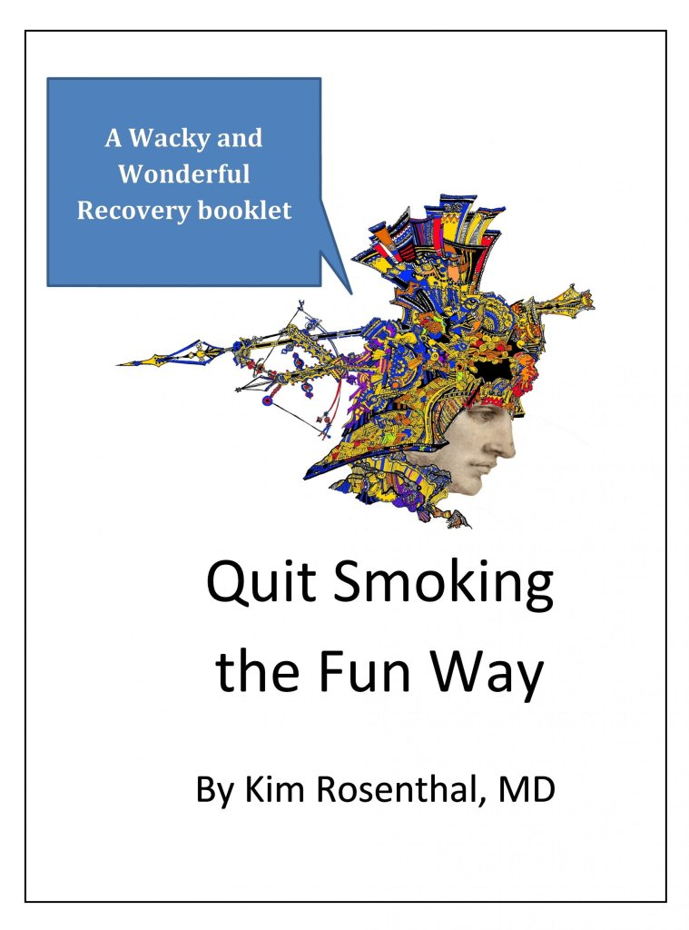 "Cover to booklet ""Quit smoking the fun way"""