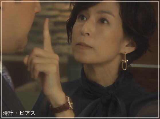 SUITS/スーツ[1話] 鈴木保奈美の衣装!ネックレスや時計はどこの?b