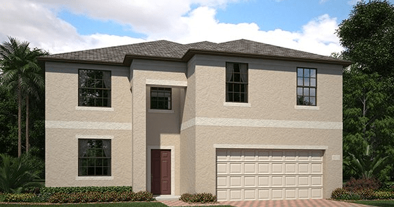 Lennar Homes The Pointe at Summerfield Crossing Riverview Florida