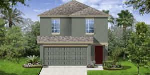 Belmont/Belmont-Manors The Madrid II 1,745 sq. ft. 4 Bedrooms 2.5 Bathrooms 2 Car Garage 2 Stories Ruskin Florida