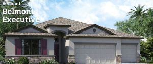 South-Fork-Stillwater-At-South-Fork The Newcastle 2,599 sq. ft. 4 Bedrooms 3 Bathrooms 3 Car Garage 1 Story Riverview Florida