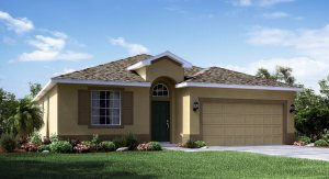 Vista-Palms/Vista-Palms-Estates/The Columbus II 1,677 sq. ft. 3 Bedrooms 2 Bathrooms 2 Car Garage 1 Story Wimauma Fl