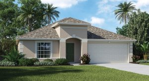 Read more about the article Ballentrae The Harrington 2,051 sq. ft. 3 Bedrooms 2 Bathrooms 2 Car Garage 1 Story Riverview Fl