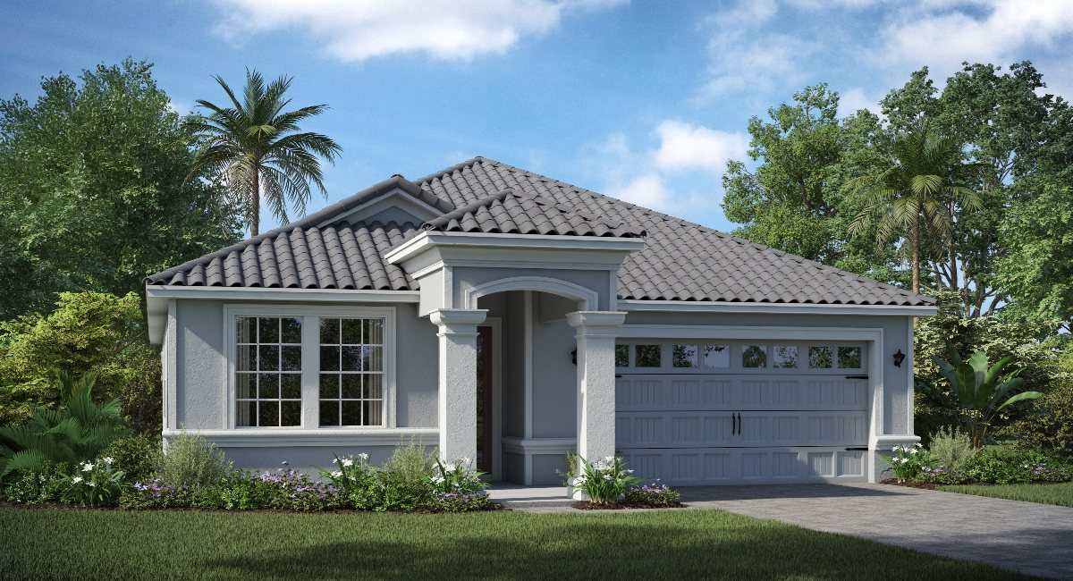 ChampionsGate Florida/The Bourne 1,971 sq. ft. 3 Bedrooms 2 Bathrooms 2 Car Garage 1 Story