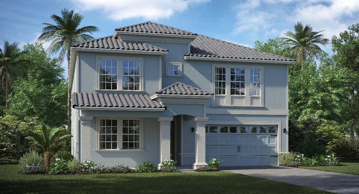 ChampionsGate Florida The/Brewster 3,777 sq. ft. 6 Bedrooms 3 Bathrooms 1 Half bathroom 3 Car Garage 2 Stories