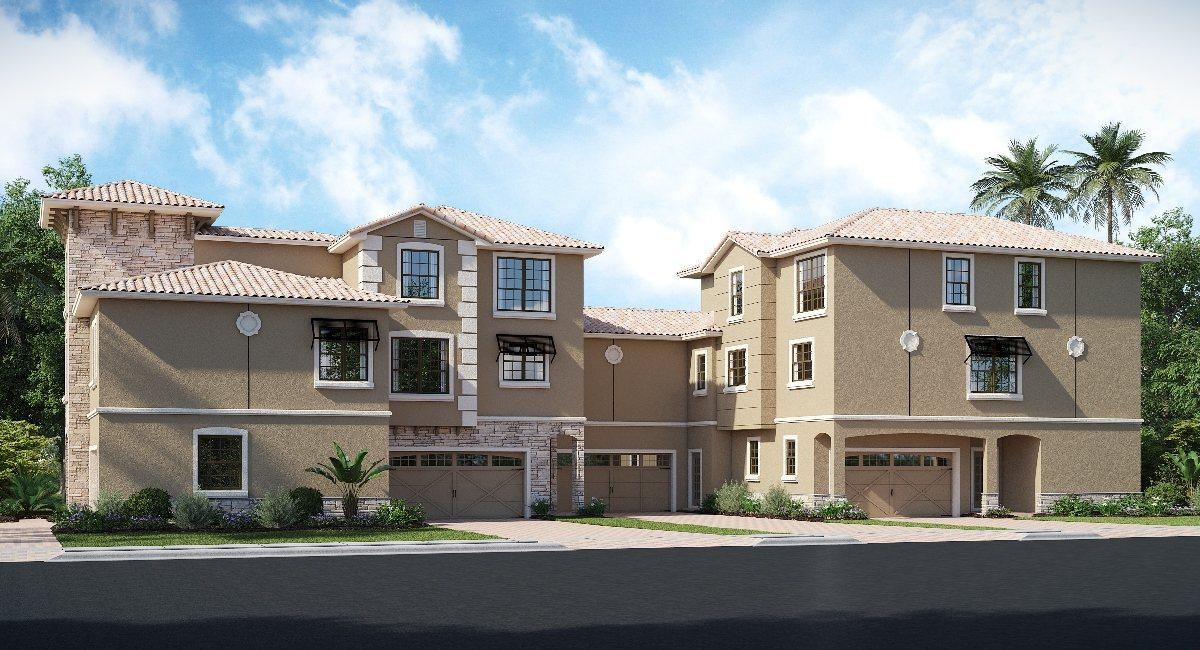 ChampionsGate Florida The Dunham 2,988 sq. ft. 5 Bedrooms 5 Bathrooms 2 Car Garage 3 Stories