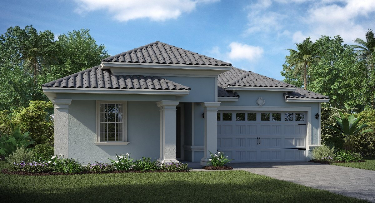 ChampionsGate Florida The/Eastham 2,065 sq. ft. 4 Bedrooms 3 Bathrooms 2 Car Garage 1 Story