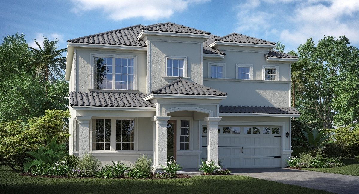 ChampionsGate Florida/The Orleans 2,611 sq. ft. 4 Bedrooms 2 Bathrooms 2 Car Garage 2 Stories