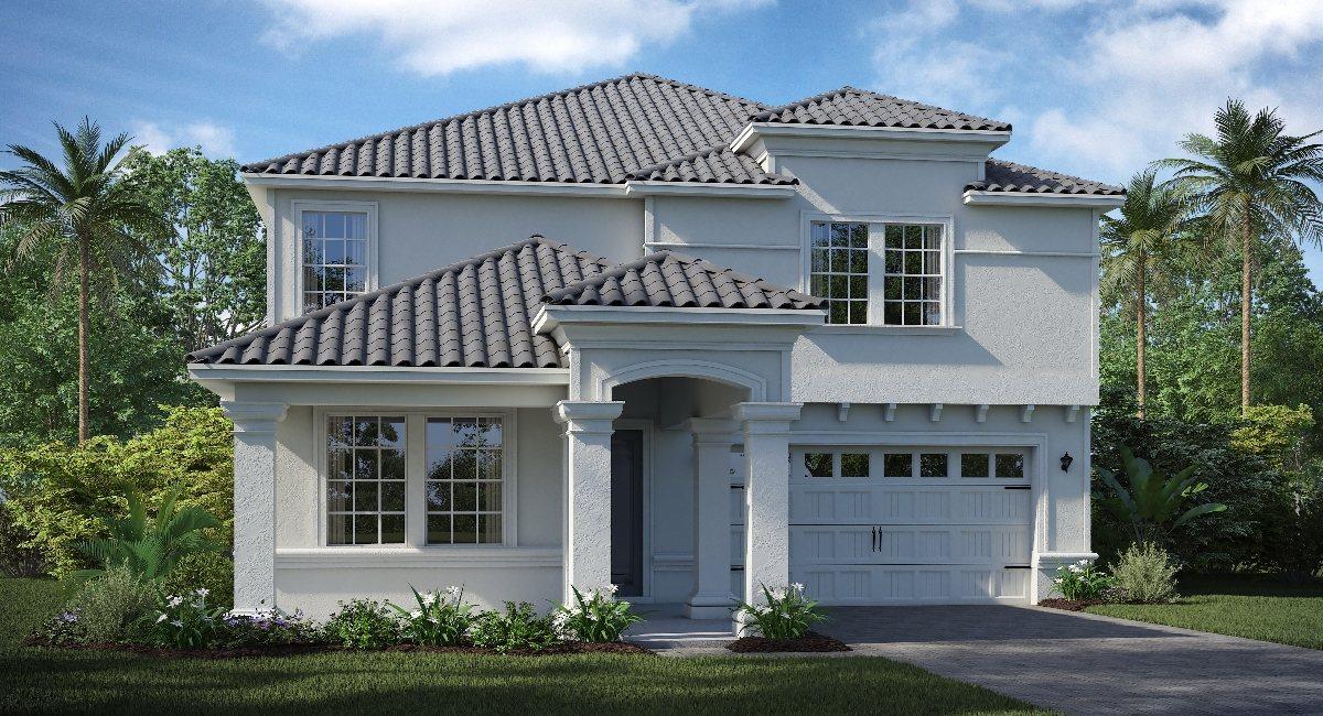 ChampionsGate Florida/The Peabody 3,288 sq. ft. 5 Bedrooms 3 Bathrooms 3 Car Garage 2 Stories