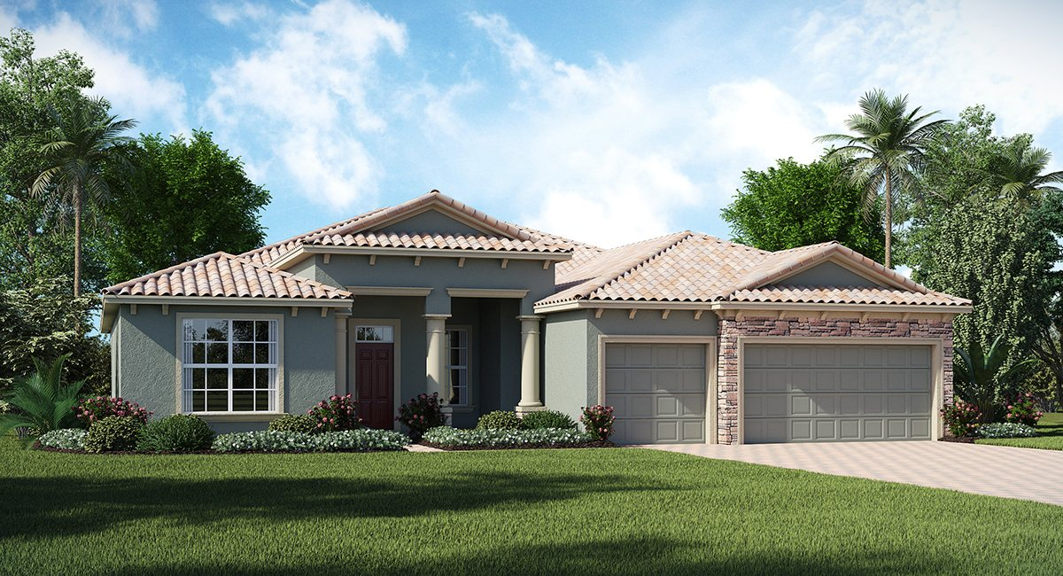 ChampionsGate Florida/The Sawgrass 2,935 sq. ft. 4 Bedrooms 3 Bathrooms 3 Car Garage 1 Story