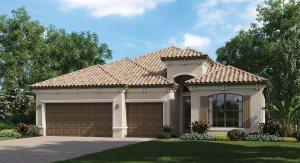 Lakewood Ranch/Bridgewater/The Stanford 2,268 sq. ft. 4 Bedrooms 3 Bathrooms 3 Car Garage 1 Story