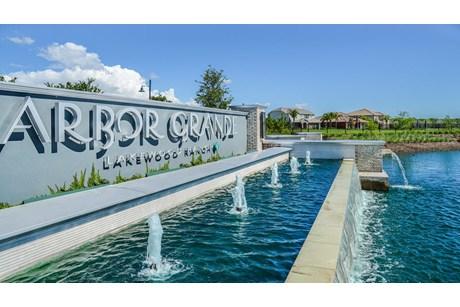 Arbor Grande At Lakewood Lakewood Ranch Florida New Homes Community