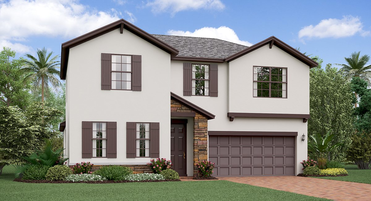 The Rhonde Island Model By Lennar Homes Riverview Florida Real Estate   Ruskin Florida Realtor   New Homes for Sale   Tampa Florida