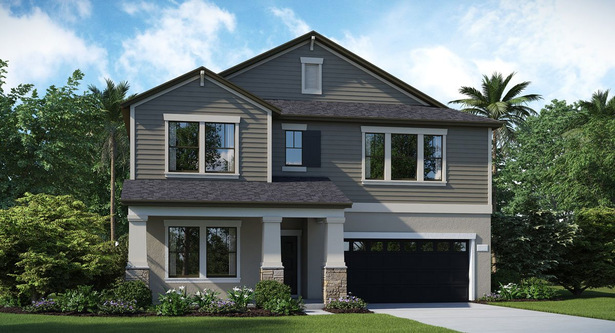 The Harwich Model Tour Lennar Homes Riverview Florida