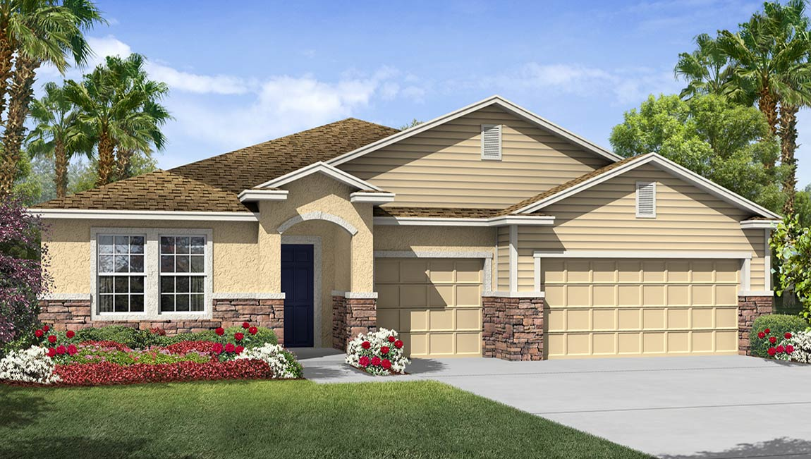 DR Horton Homes | The Camden 2,787 square feet 4 bed, 3.5 bath, 3 car, 1 story  | Brooker Ridge Brandon Florida Real Estate | Brandon Realtor