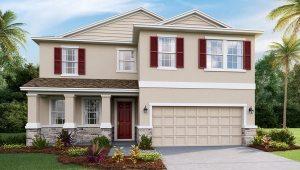DR Horton Homes   The Coral 2,756 square feet 4 bed, 3 bath, 2 car, 2 story   Brooker Ridge Brandon Florida Real Estate   Brandon Realtor