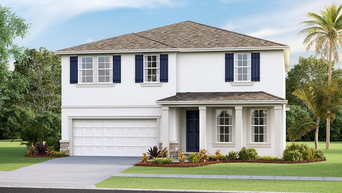 DR Horton Homes   The Hemingway 2,934 square feet 5 bed, 3 bath, 2 car, 2 story Southshore Bay Wimauma Florida Real Estate   Wimauma Realtor