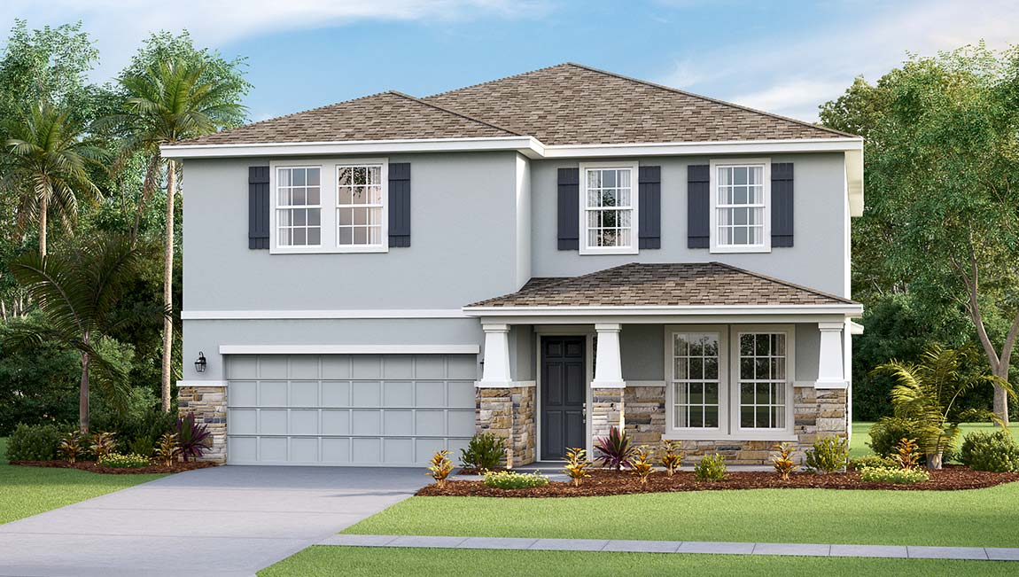 DR Horton Homes | The Holden  3,313 square feet 4 bed, 3 bath, 2 car, 2 story | Brooker Ridge Brandon Florida Real Estate | Brandon Realtor