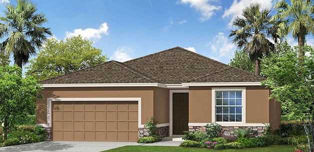 DR Horton Homes |The Lantana 2,045 square feet 4 bed, 2.5 bath, 2 car, 1 story  | Brooker Ridge Brandon Florida Real Estate | Brandon Realtor
