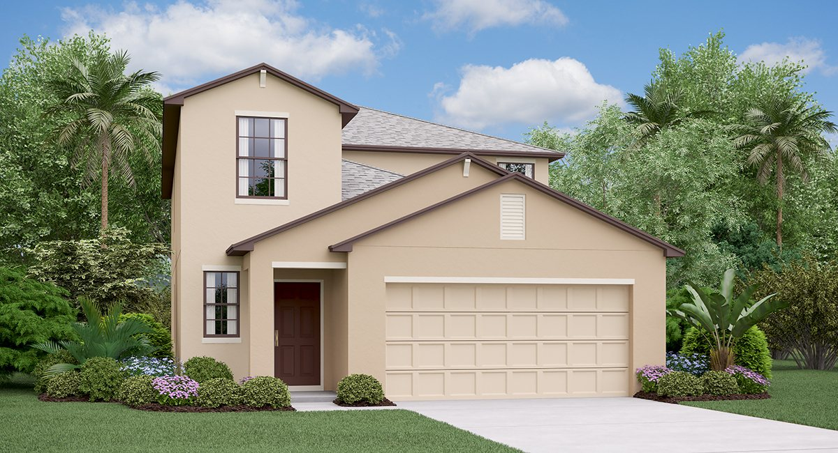 The Columbia Model Lennar Homes Tampa Florida Real Estate | Ruskin Florida Realtor | Palmetto New Homes for Sale | Wesley Chapel Florida