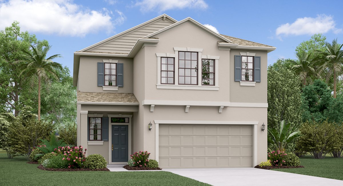 The Maryland Model Tour  Lennar Homes Riverview Florida