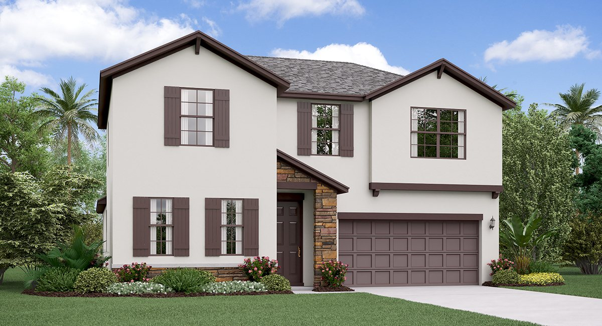 You are currently viewing The Rhode Island Model Tour Rivercrest Lakes Lennar Homes  Riverview Florida