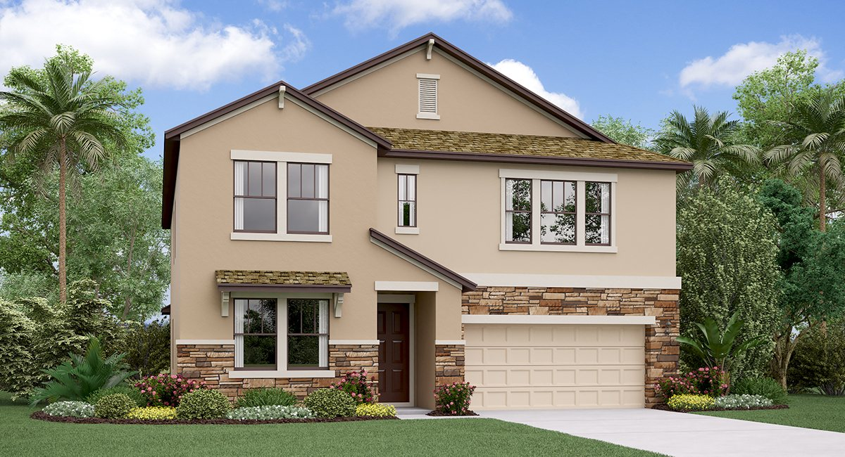 You are currently viewing The Virginia Model Tour Crest View Lakes  Lennar Homes Riverview Florida