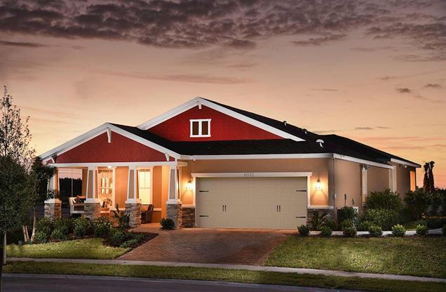 Beazer Homes New Home Community Apollo Beach Florida
