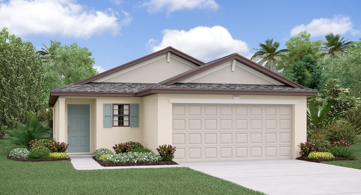 The  Annapolis Model Tour  Lennar Homes Heron Pass  Ruskin Florida