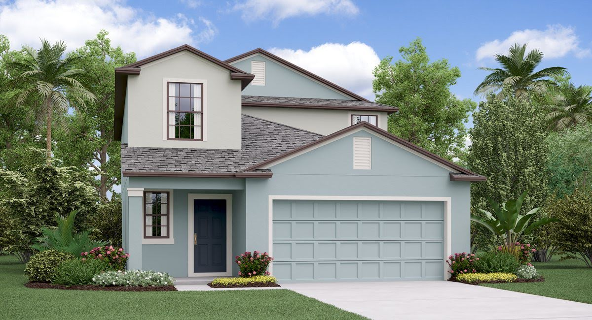 The Columbia  Lennar Homes Heron Pass  Ruskin Florida