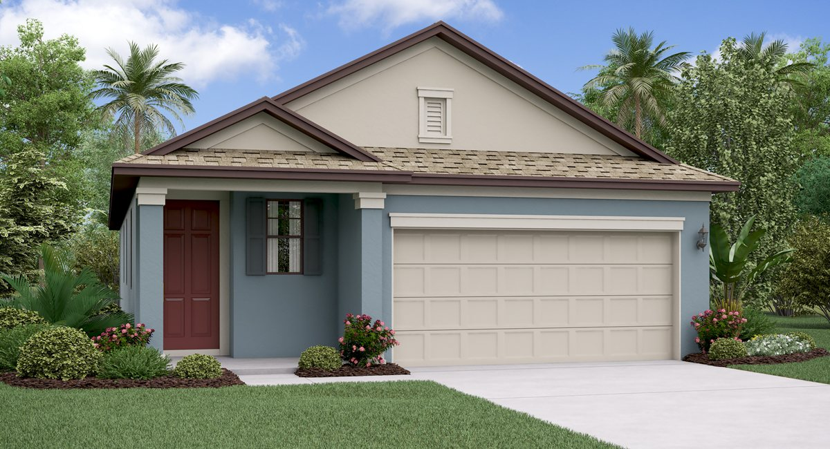 The  Connecticut Model Tour  Lennar Homes Tampa Florida