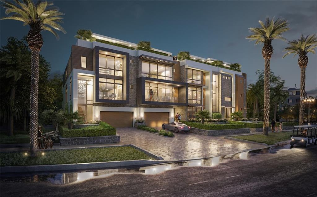 The Islander New  Condominium Community Davis Island  Tampa Florida