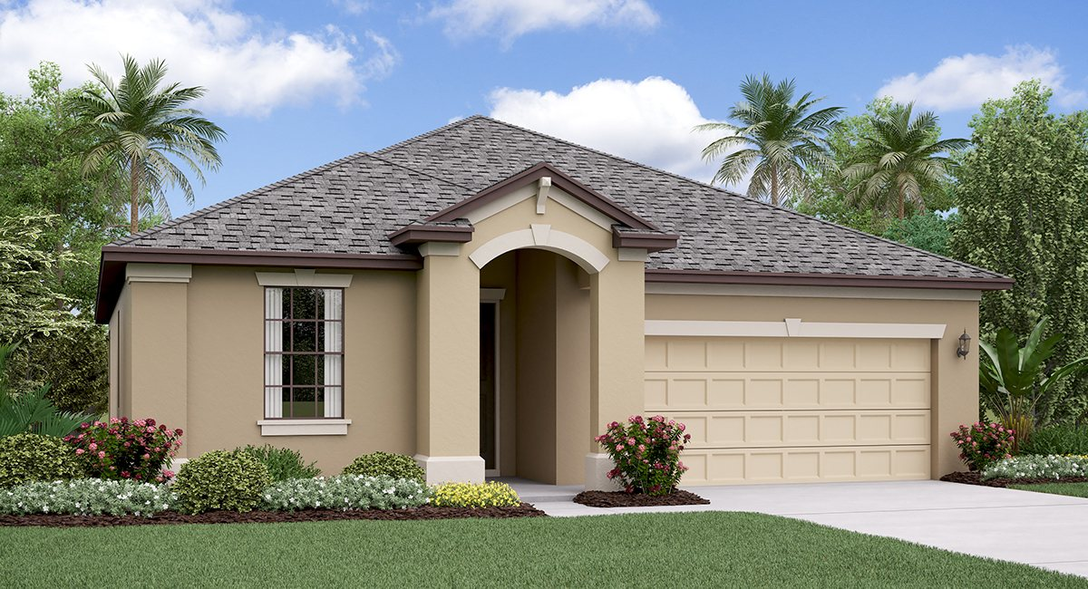 The New Jersey Model Tour Lennar Homes Belmont  Ruskin Florida
