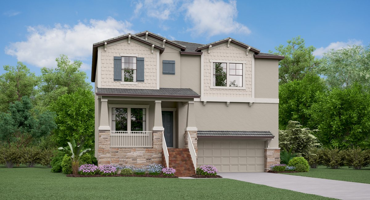 You are currently viewing The Florida Model Tour Lennar Homes Southport South Tampa Florida