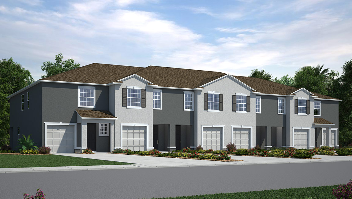 You are currently viewing The Loft New Town Home Community Ruskin Florida
