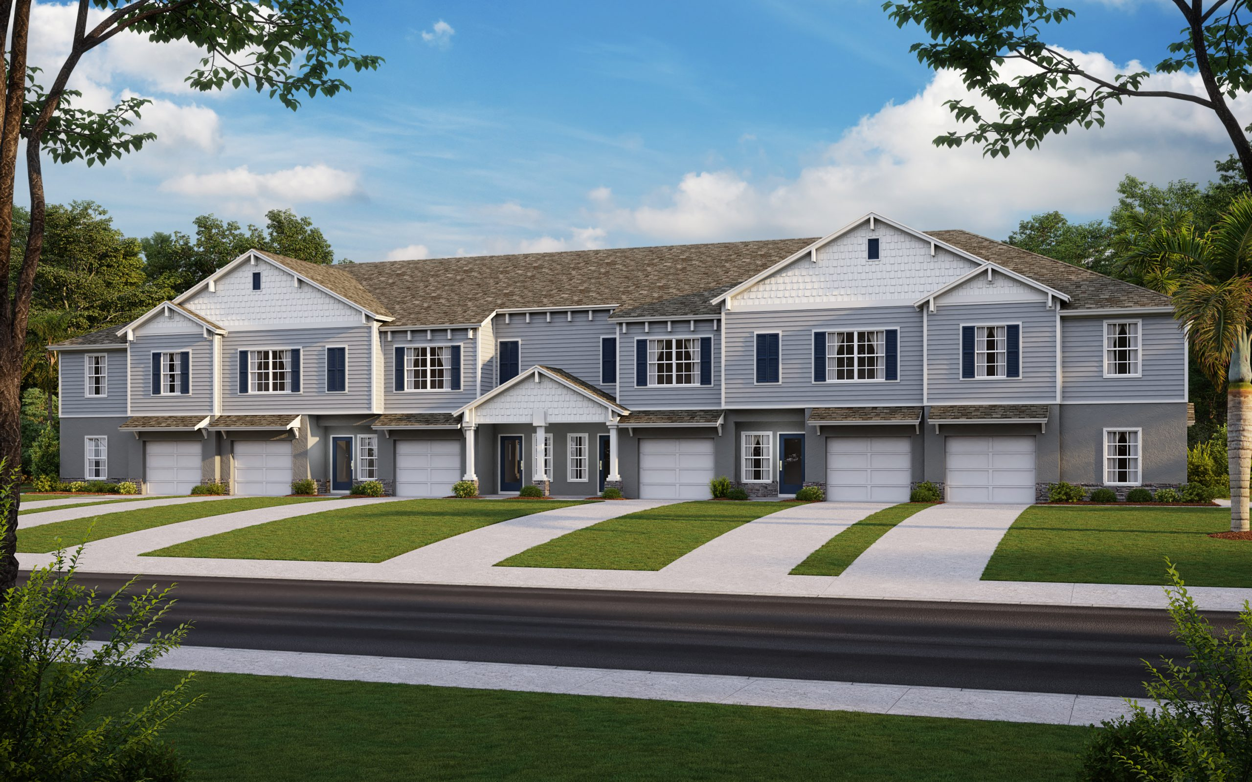 Cypress Bay New Home Community Tampa Florida