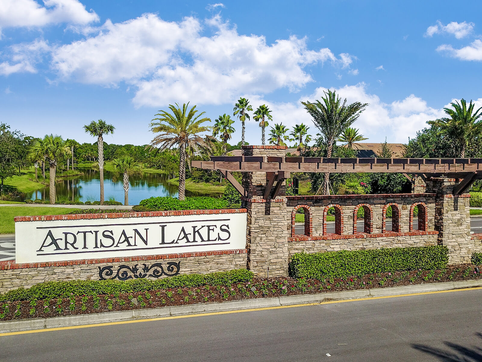 Eave's Bend at Artisan Lakes New Home Community Palmetto Florida